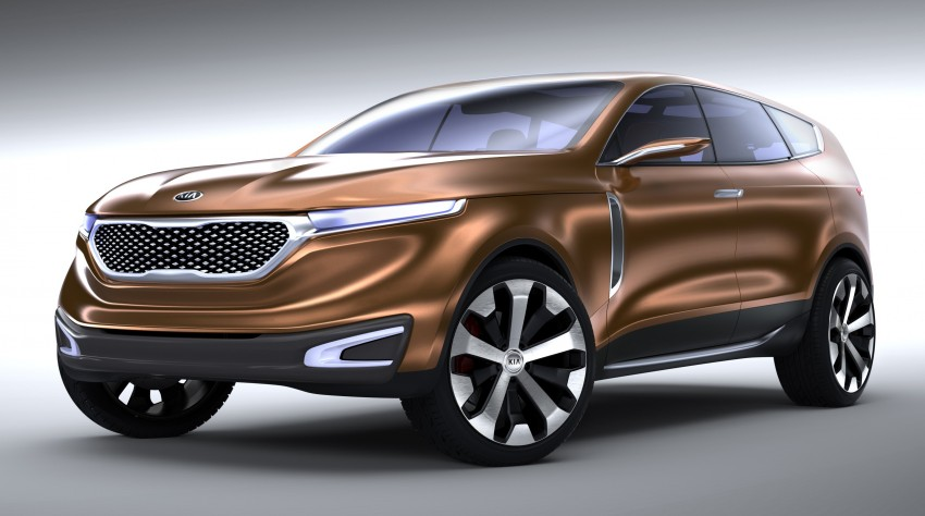 Kia Cross GT – towards the premium, and larger, path Image #153373