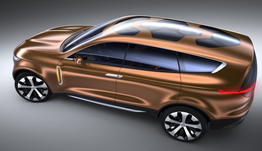 Kia Cross GT – towards the premium, and larger, path Image #153372