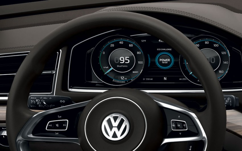 Volkswagen CrossBlue Concept: MQB-based 7-seater Image #149738