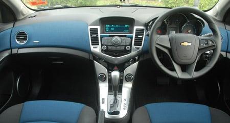 Chevrolet Cruze 1.8 LT Test Drive Report Image #35187