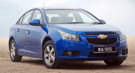 Chevrolet Cruze 1.8 LT Test Drive Report Image #35185