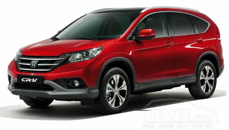 Honda CR-V – ad for fourth-gen pops up on oto.my Image #152142
