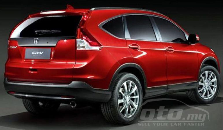 Honda CR-V – ad for fourth-gen pops up on oto.my Image #152143