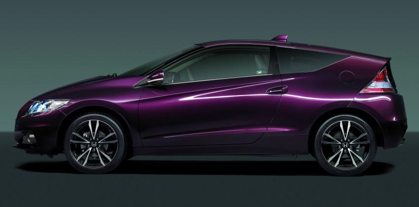 Honda CR-Z facelift – more details and interior pix Image #133707