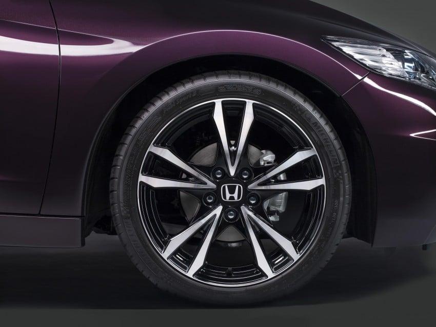 Honda CR-Z facelift – more details and interior pix Image #133703