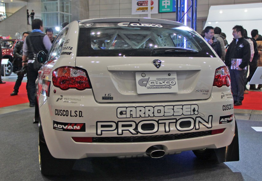 Group N Proton Satria Neo rally car goes on sale in Japan Image #84368