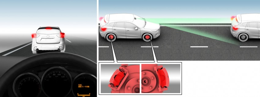 Mazda CX-5 to debut Smart City Brake Support system Image #87753