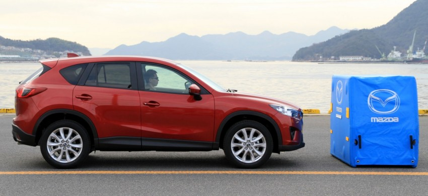 Mazda CX-5 to debut Smart City Brake Support system Image #87754