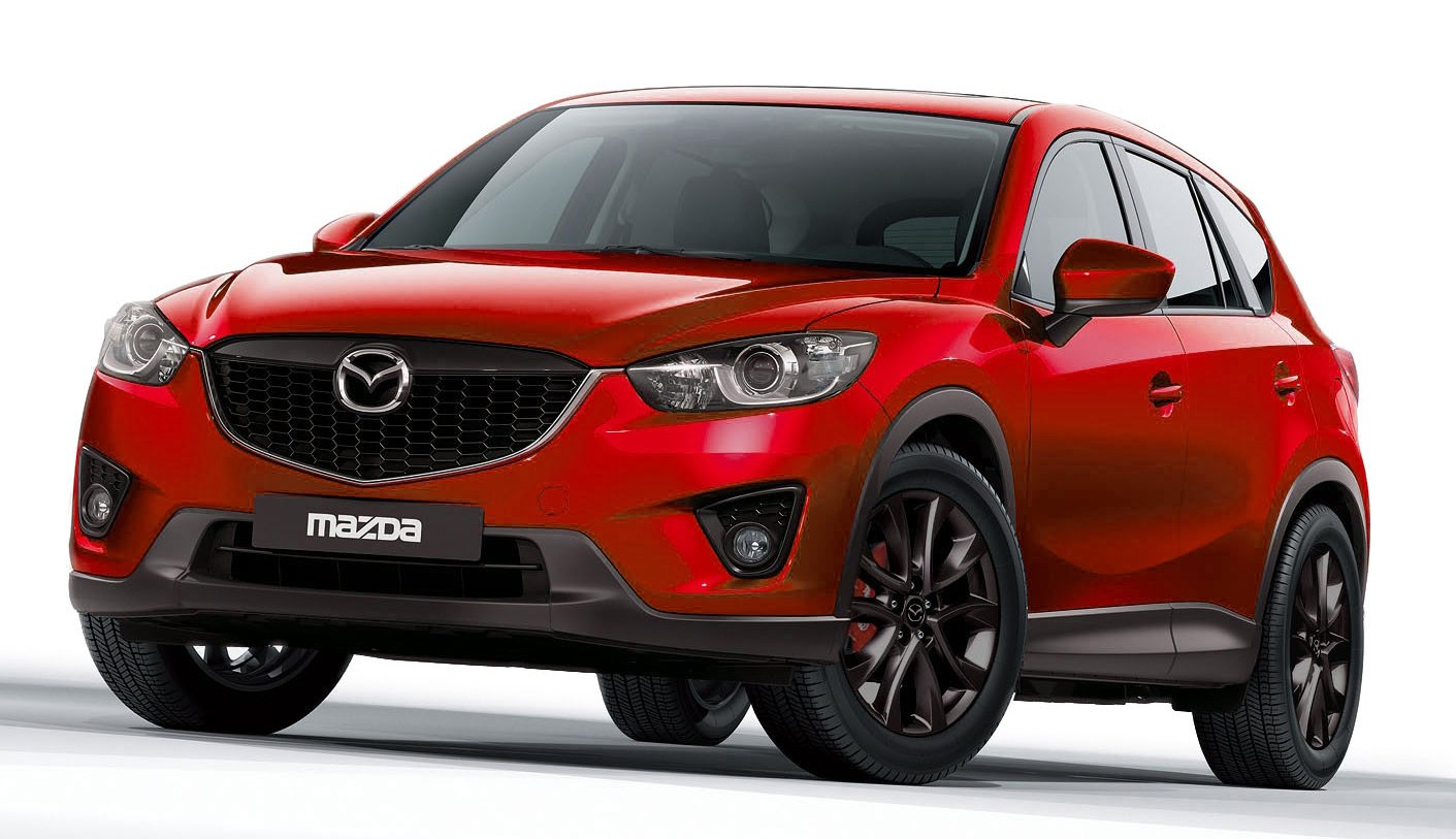 mazda cx 5 customised to be shown at tokyo auto salon. Black Bedroom Furniture Sets. Home Design Ideas