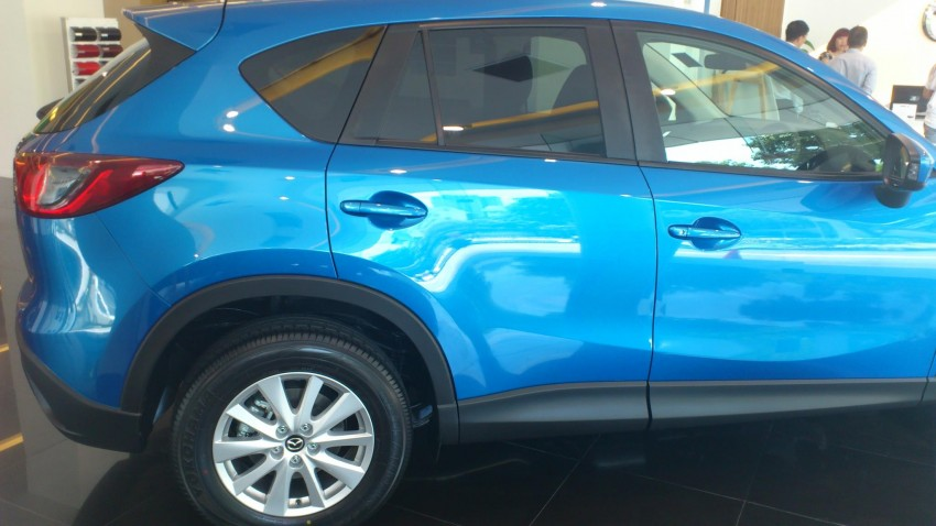 Mazda CX-5 wheels downsized to 17 from 19-inches Image #125174