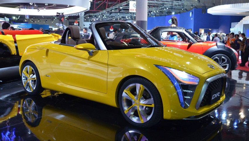 Daihatsu D-X and D-R Concept showcased at IIMS Image #132303
