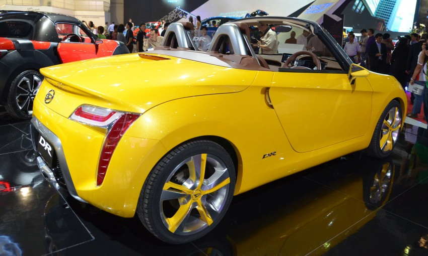 Daihatsu D-X and D-R Concept showcased at IIMS Image #132304