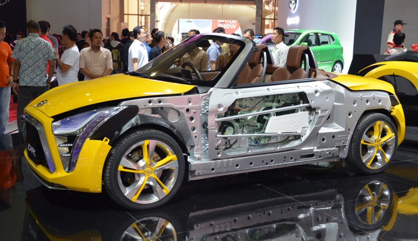Daihatsu D-X and D-R Concept showcased at IIMS Image #132307