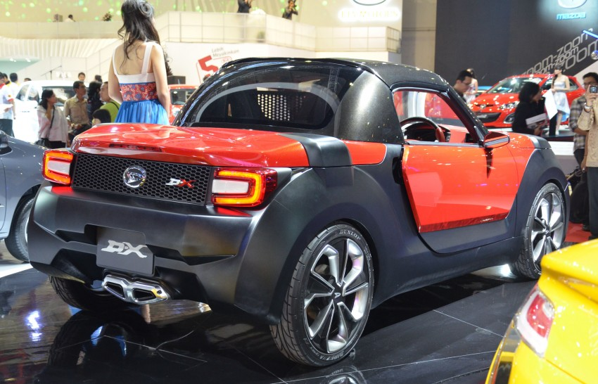 Daihatsu D-X and D-R Concept showcased at IIMS Image #132298