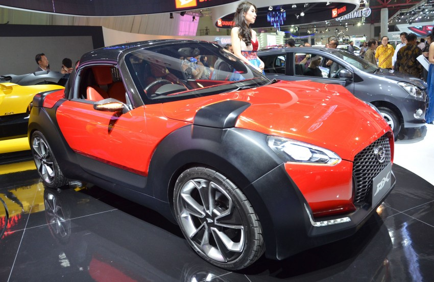 Daihatsu D-X and D-R Concept showcased at IIMS Image #132299