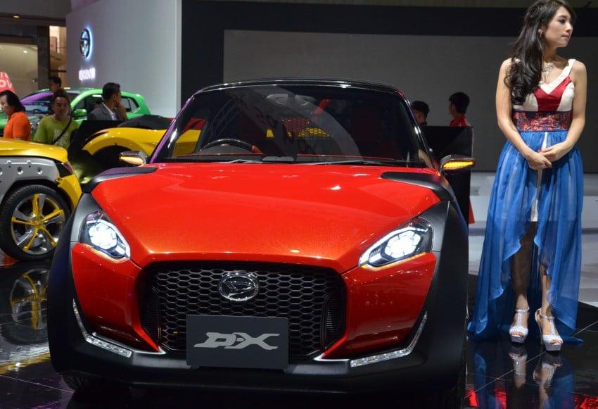 Daihatsu D-X and D-R Concept showcased at IIMS Image #132300