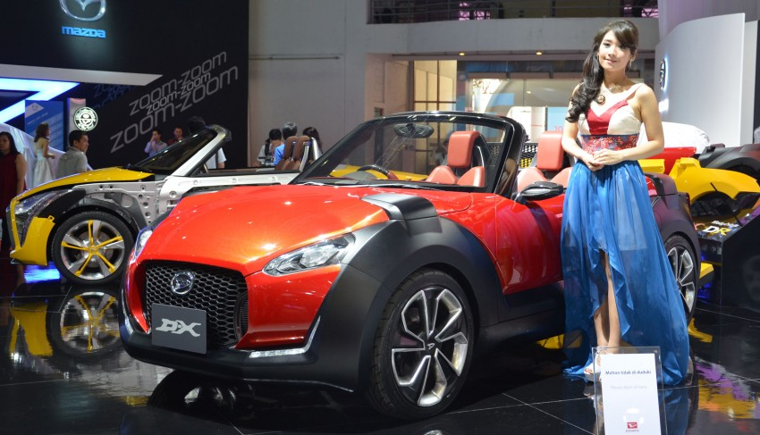 Daihatsu D-X and D-R Concept showcased at IIMS Image #132301
