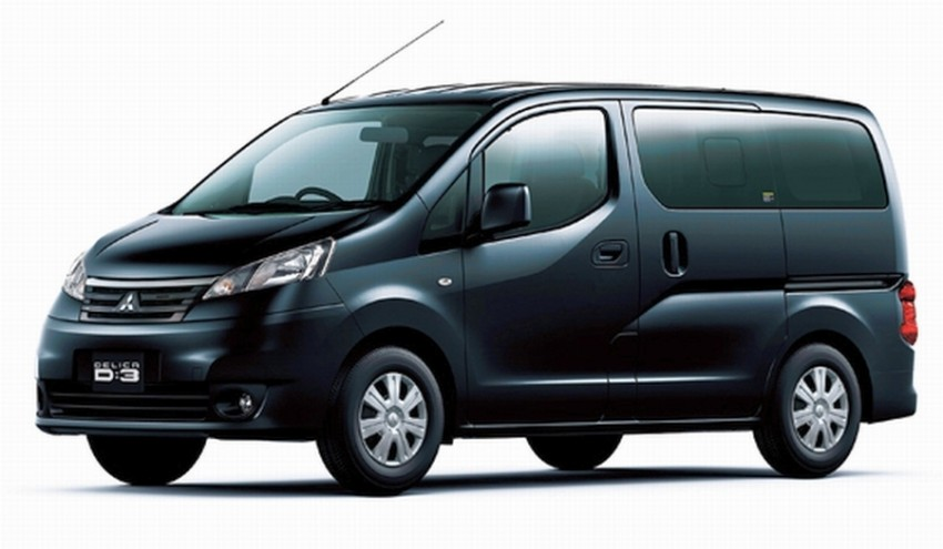 Mitsubishi Delica D:3 – rebadged Nissan NV200 goes on sale in Japan beginning end-October Image #71819