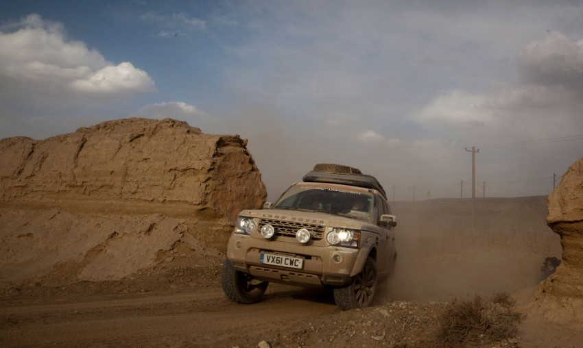 Land Rover Discovery drives from UK to China for charity Image #102861