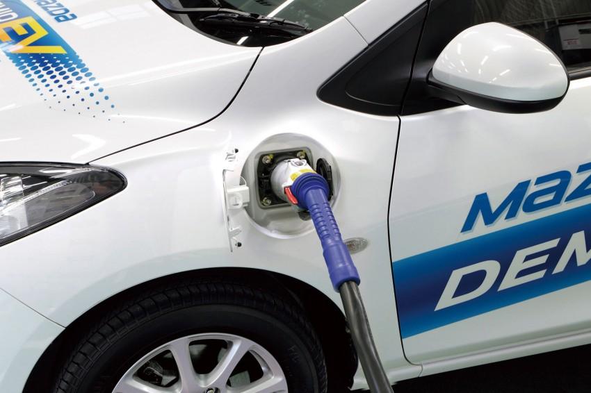 Mazda Demio EV – the Mazda2 goes electric Image #116269
