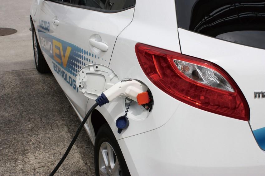 Mazda Demio EV – the Mazda2 goes electric Image #116270