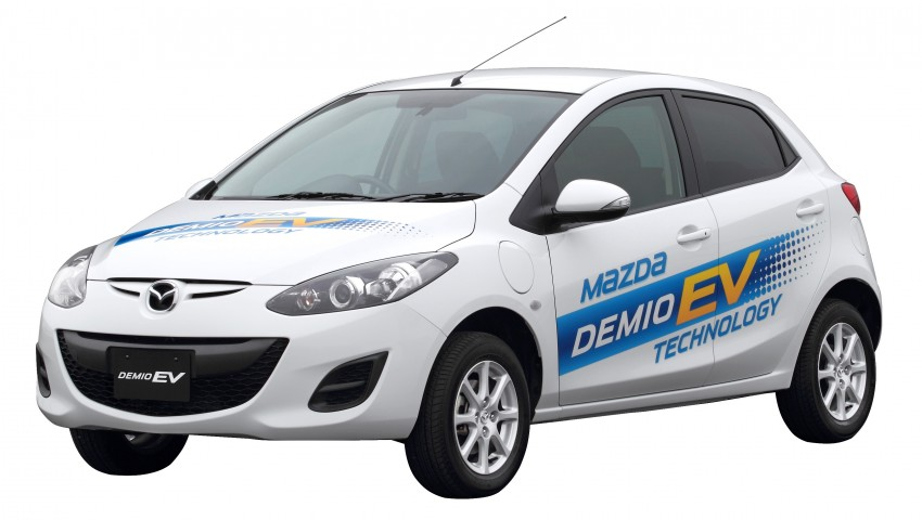 Mazda Demio EV – the Mazda2 goes electric Image #116266