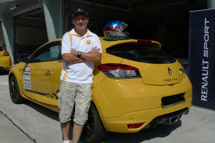 Renault Megane RS 250 beats its previous Sepang lap record by five seconds! Image #82501