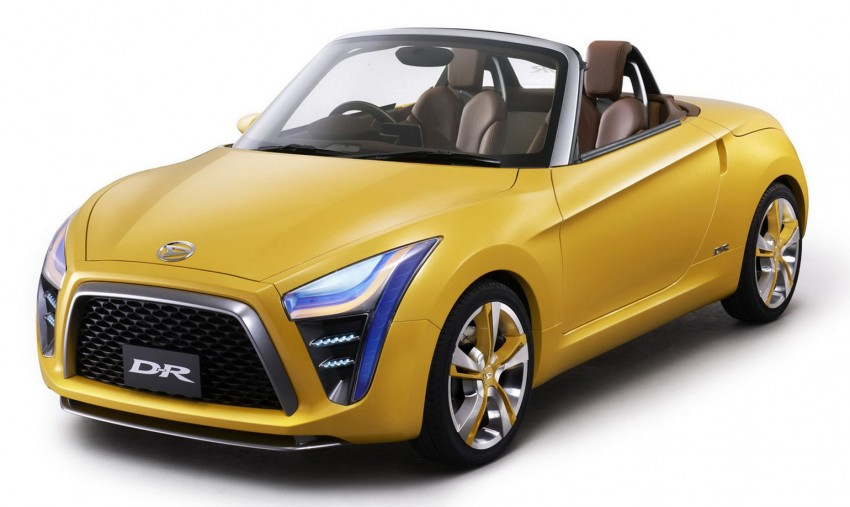 Daihatsu D-X and D-R Concept showcased at IIMS Image #132312