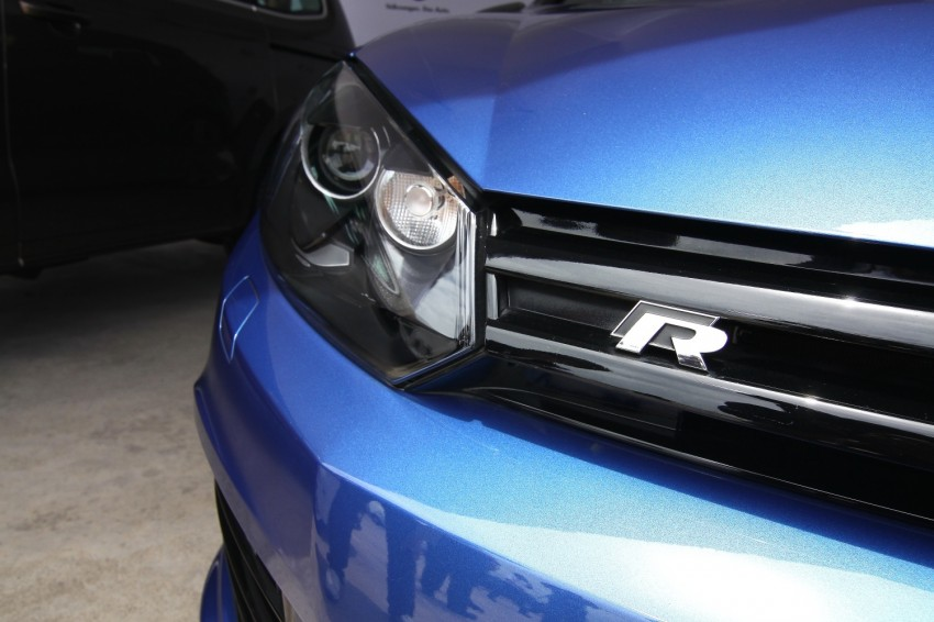 GALLERY: Live shots of the VW Golf R – AWD, 255 PS Image #92470