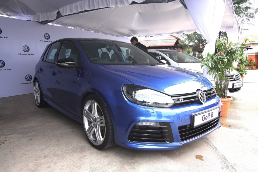 GALLERY: Live shots of the VW Golf R – AWD, 255 PS Image #92475