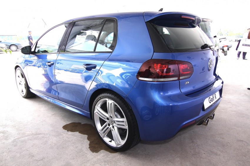 GALLERY: Live shots of the VW Golf R – AWD, 255 PS Image #92481