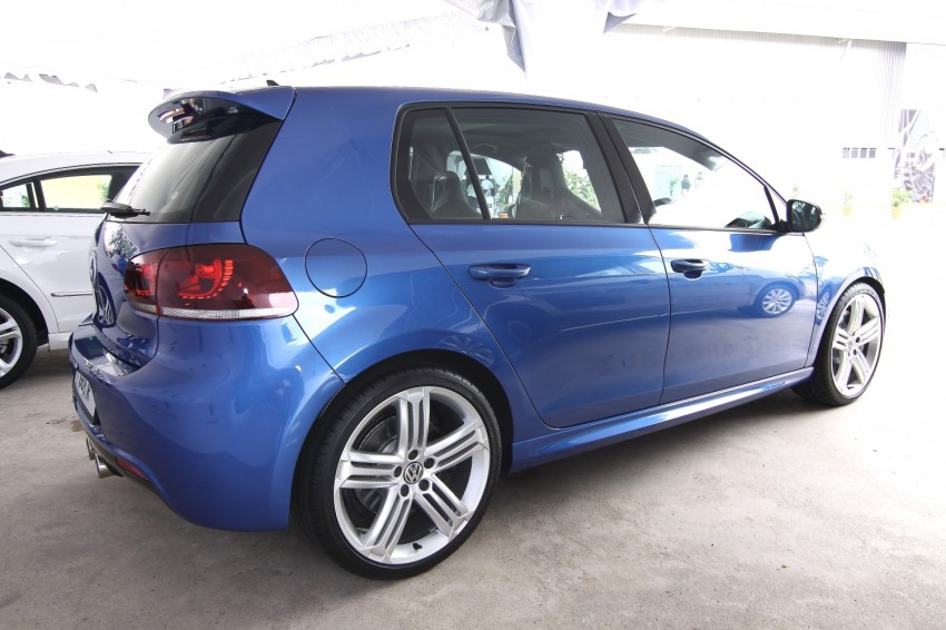 GALLERY: Live shots of the VW Golf R – AWD, 255 PS Image #92492