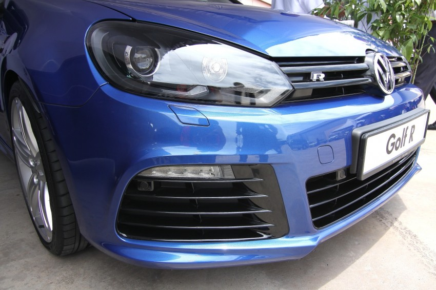 GALLERY: Live shots of the VW Golf R – AWD, 255 PS Image #92502