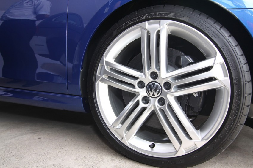 GALLERY: Live shots of the VW Golf R – AWD, 255 PS Image #92507