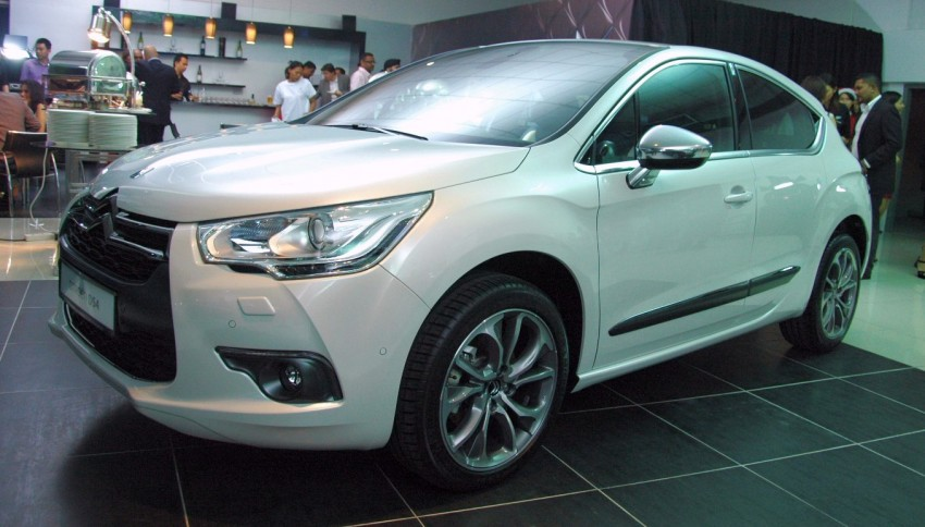 Citroën C4 launched, RM126k – DS4 coming Feb 2012 Image #80782