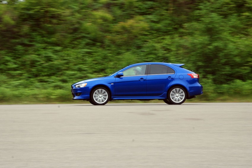Mitsubishi Lancer Sportback Test Drive Review from Japan Image #66664