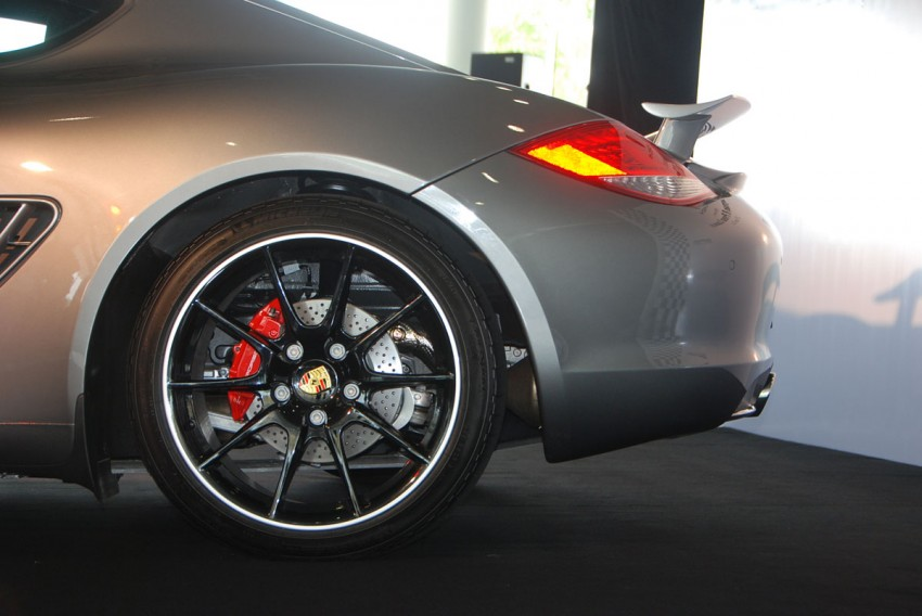 Porsche Cayman R launched: 10 hp more, 55 kg less, RM630k – our brief impressions from the track Image #66355