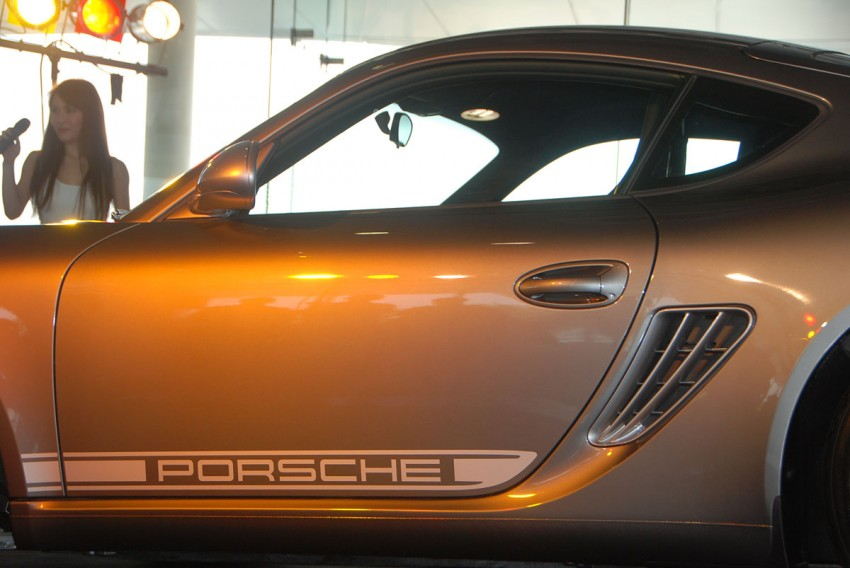 Porsche Cayman R launched: 10 hp more, 55 kg less, RM630k – our brief impressions from the track Image #66356
