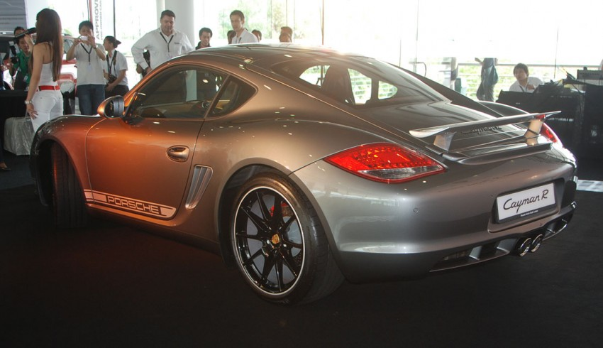 Porsche Cayman R launched: 10 hp more, 55 kg less, RM630k – our brief impressions from the track Image #66357