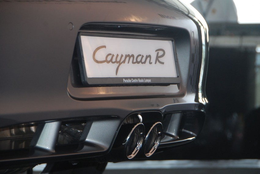 Porsche Cayman R launched: 10 hp more, 55 kg less, RM630k – our brief impressions from the track Image #66359