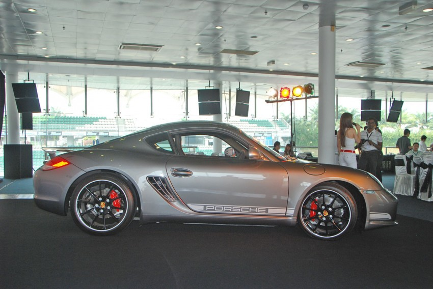 Porsche Cayman R launched: 10 hp more, 55 kg less, RM630k – our brief impressions from the track Image #66363