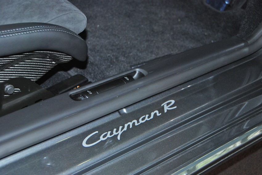 Porsche Cayman R launched: 10 hp more, 55 kg less, RM630k – our brief impressions from the track Image #66366