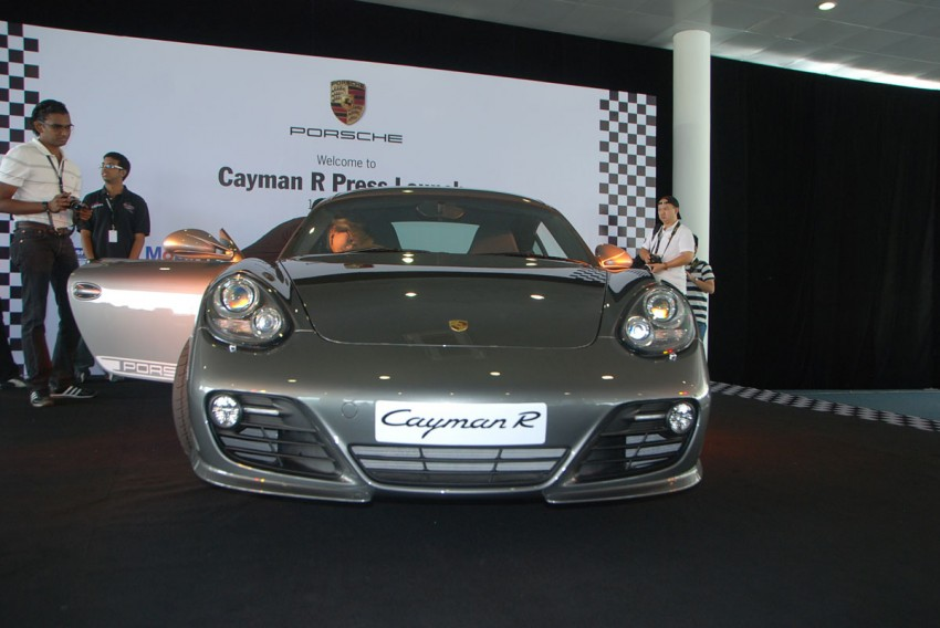 Porsche Cayman R launched: 10 hp more, 55 kg less, RM630k – our brief impressions from the track Image #66370
