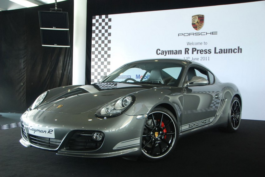 Porsche Cayman R launched: 10 hp more, 55 kg less, RM630k – our brief impressions from the track Image #66372