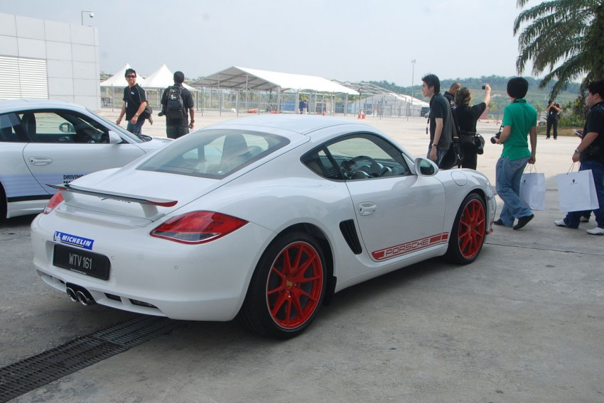 Porsche Cayman R launched: 10 hp more, 55 kg less, RM630k – our brief impressions from the track Image #66373