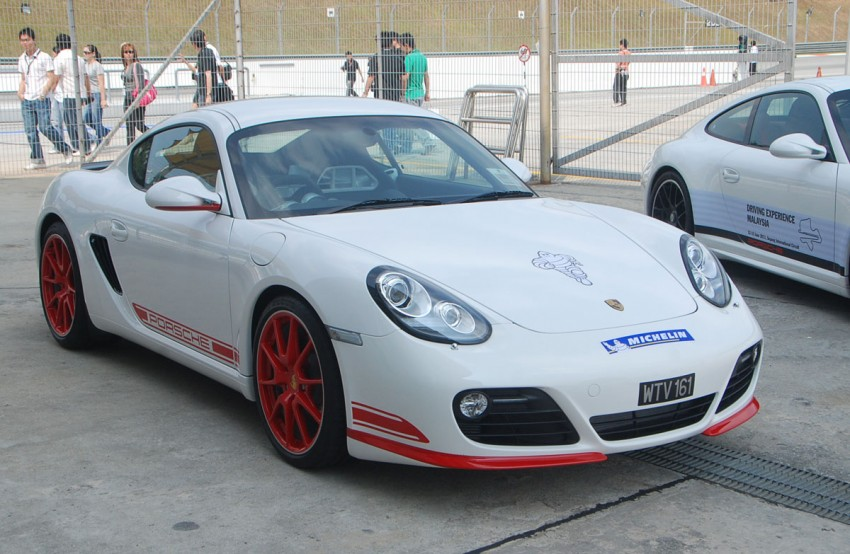 Porsche Cayman R launched: 10 hp more, 55 kg less, RM630k – our brief impressions from the track Image #66375