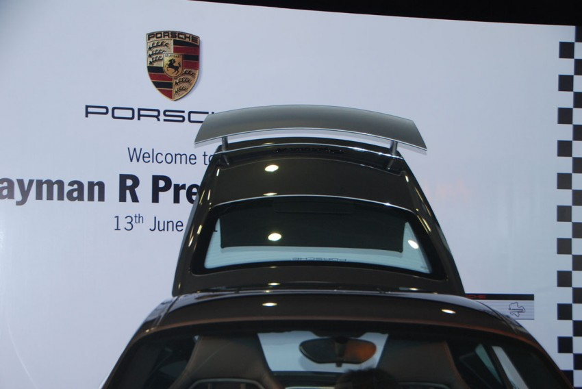 Porsche Cayman R launched: 10 hp more, 55 kg less, RM630k – our brief impressions from the track Image #66384