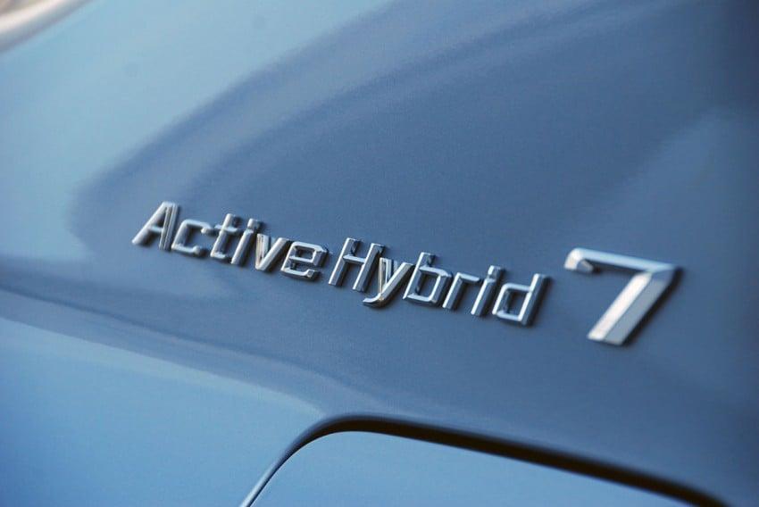 Hybrid powerhouse: BMW ActiveHybrid 7 driven in Munich Image #66286