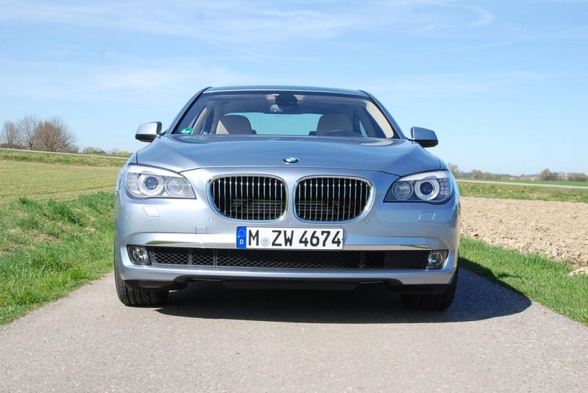 Hybrid powerhouse: BMW ActiveHybrid 7 driven in Munich Image #66298