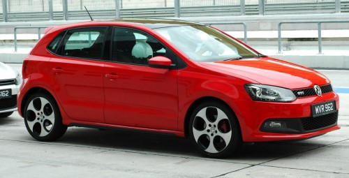 volkswagen polo gti launched in sepang - mk5 looks set to win lots